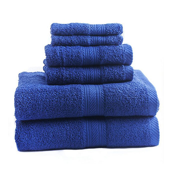 Alternate image 1 for Signature 6-Piece Bath Towel Set