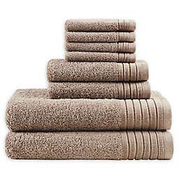 Madison Park Signature 8-Piece Mirage Towel Set in Taupe