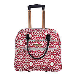 Jenni Chan Aria Snow Flake 17-Inch Business Tote