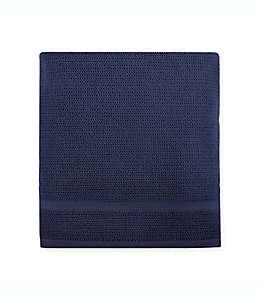 Toalla de medio baño de algodón Haven™ Rustico color azul marino