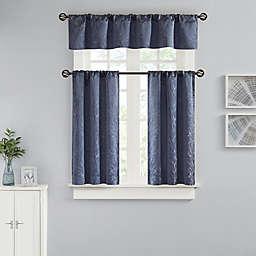 Bergen Window Curtain Tier Pair and Valance
