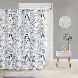 Pet Friends Shower Curtain