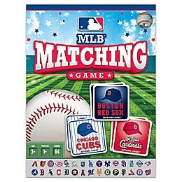 MLB Matching Card Game