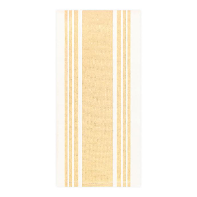 Alternate image 1 for All-Clad Silicone Kitchen Towel in Butter