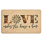 Mohawk Home® Windmill Love Entry Mat