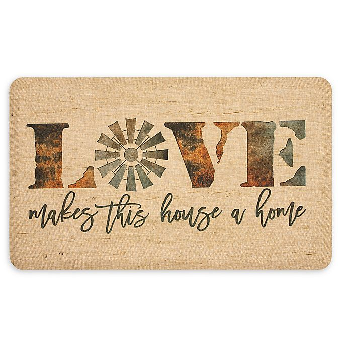 Alternate image 1 for Mohawk Home® Windmill Love Entry Mat