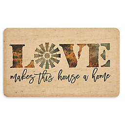 Mohawk Home® Windmill Love Entry Mat