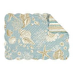 C&F Home Shells Placemats (Set of 6)