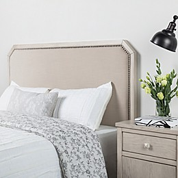 Bee & Willow™ Home Upholstered Headboard in Natural