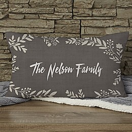 Cozy Home Personalized Throw Pillow