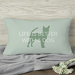 Pet Life Personalized Throw Pillow