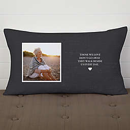 Heaven in Our Home Memorial Personalized Throw Pillow
