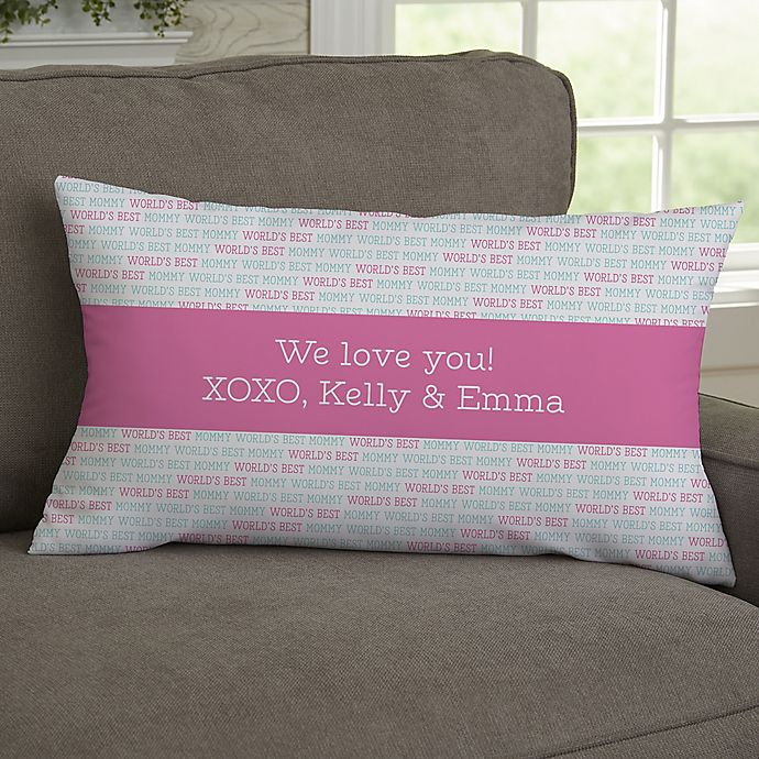 Alternate image 1 for Love You This Much Photo Personalized Throw Pillow