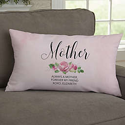 00cd980682a Home Is Where Mom Is Personalized Throw Pillow