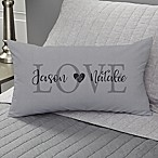 Elegant Couple Personalized Throw Pillow
