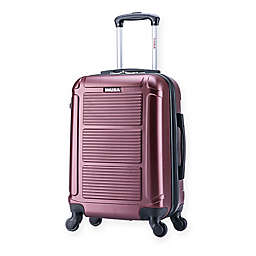 InUSA Pilot 20-Inch Hardside Spinner Carry On Luggage in Wine
