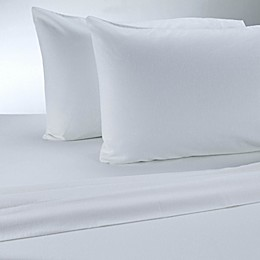 Therapedic® 100% Ring Spun Cotton Flannel Solid Sheet Set