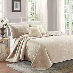 Sherry Kline Lux Embroidered Quilt Set