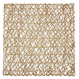 Design Imports Woven Square Placemats (Set of 6)
