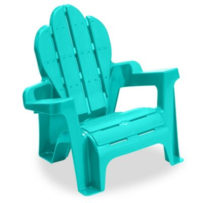 American Plastic Toys Adirondack Chair in Teal