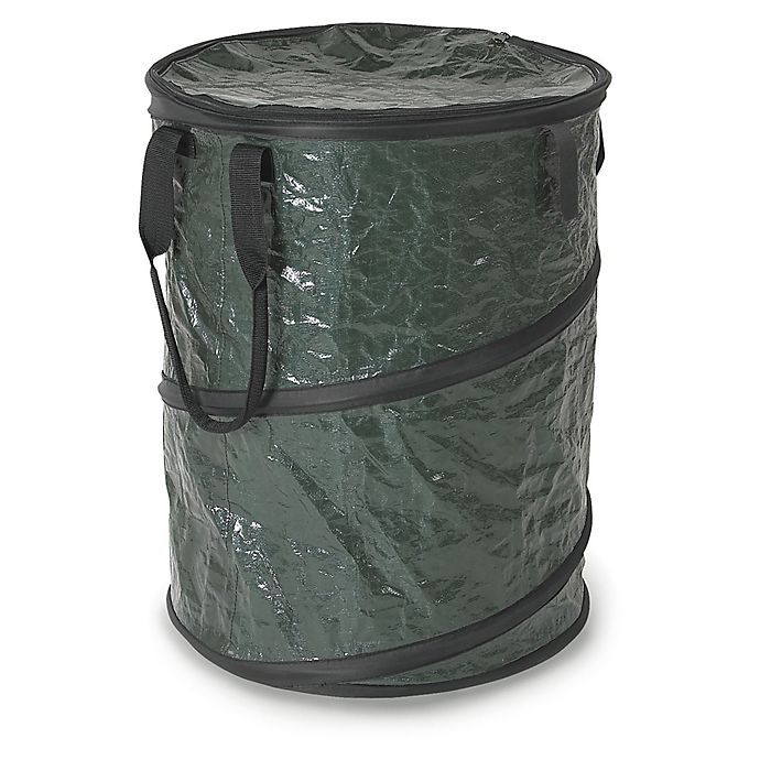 Alternate image 1 for Stansport® Collapsible Trash Can with Lid