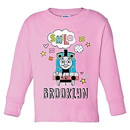 Thomas & Friends Medium Long Sleeve Top in Pink