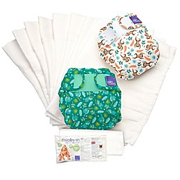 Bambino Mio Size 0-12M 2-Piece Rainforest Reusable Diapers