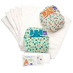 Bambino Mio Miosolo Size 12-24M 61-Piece Rainforest Cloth Diaper Set