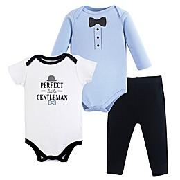 Hudson Baby® 3-Piece Little Gentleman Bodysuit and Pants Set