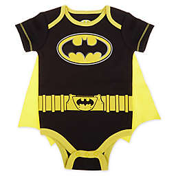 Warner Brothers® Batman® Caped Bodysuit in Black