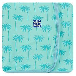 KicKee Pants® Palm Tree Blanket in Blue