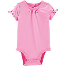 carter's® Bow Sleeve Bodysuit in Pink