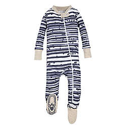Burt's Bees Baby® Starry Stripes Footie in Blue