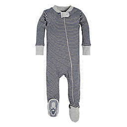 Burt's Bees Baby® Mini Stripe Sleeper in Grey