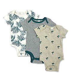 Modern Baby® 3-Pack Palms Bodysuits
