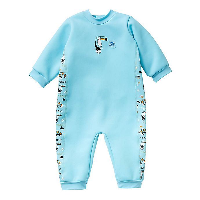 Alternate image 1 for Splash About Noah's Ark Warm in One Wetsuit in Light Blue