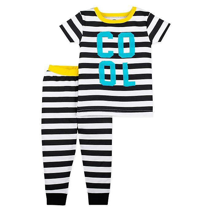 ad643d1e8 Lamaze® 2-Piece Organic Cotton Cool Pajama Set in Black/White ...