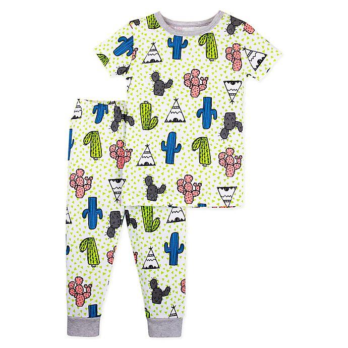 bca7ee342 Lamaze® 2-Piece Organic Cotton Cactus Pajama Set in Green | buybuy BABY