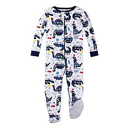 Lamaze® Organic Cotton Dinosaur Pajama in White