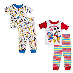 Disney® 4-Piece Mickey Mouse Adventure Pals Pajama Set