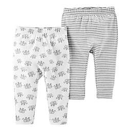 Little Planet™ Organic by carter's® 2-Pack Elephant Pants
