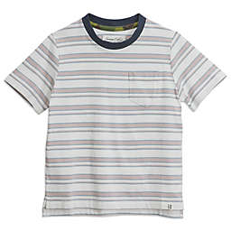 Sovereign Code® Striped T-Shirt in Pink/White