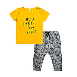 Petit Lem® It's a Jungle Out There! 2-Piece Tee and Pant Set