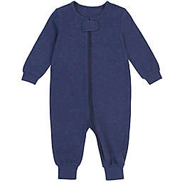 Petit Lem® Size 6M Organic Cotton Coverall in Heather Navy