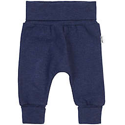 Petit Lem® Newborn-6M Organic Cotton Grow Pant in Heather Navy