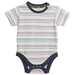 Sovereign Code® Striped Bodysuit in Pink/White