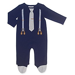 Clasix Beginnings® Suspender Coverall in Navy