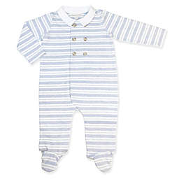 Clasix Beginnings® Striped Coverall in Blue