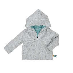 Robeez® Full-Zip Hoodie in Grey/Blue
