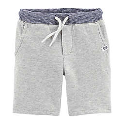 carter's® Pull-On French Terry Short in Heather Grey